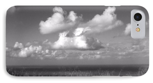 Puffy Clouds IPhone Case by Patricia Strand