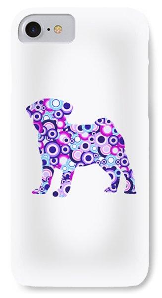 Pug - Animal Art Phone Case by Anastasiya Malakhova