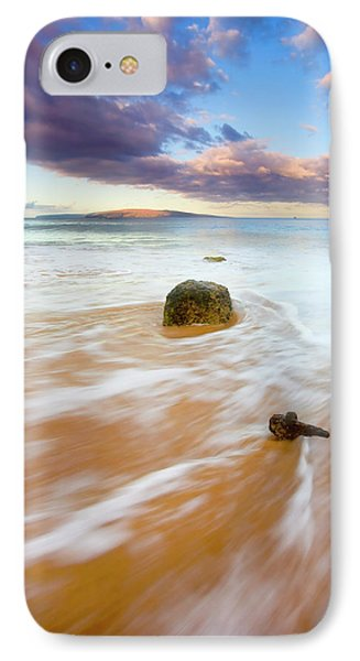 Pulled To The Sea Phone Case by Mike  Dawson