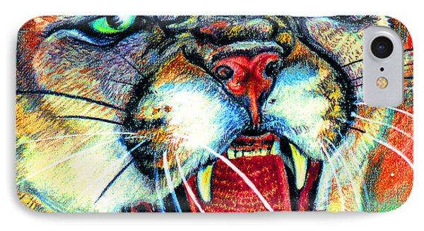 Puma IPhone Case by John Keaton