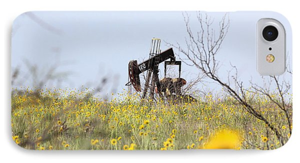 Pumpjack 122 IPhone Case by Alycia Christine