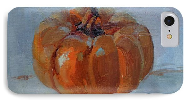 Pumpkin Alone  Phone Case by Donna Shortt