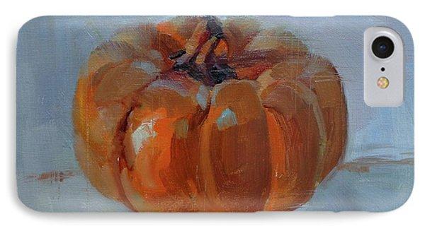 Pumpkin Alone  IPhone Case