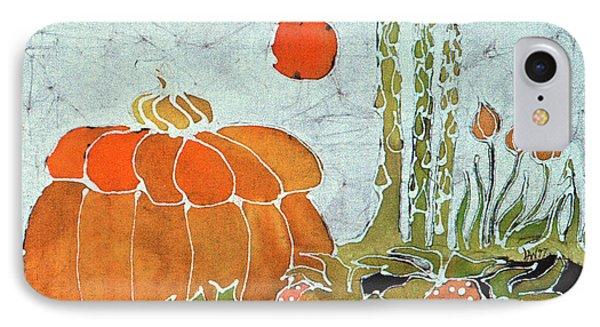 Pumpkin And Asparagus Phone Case by Carol  Law Conklin