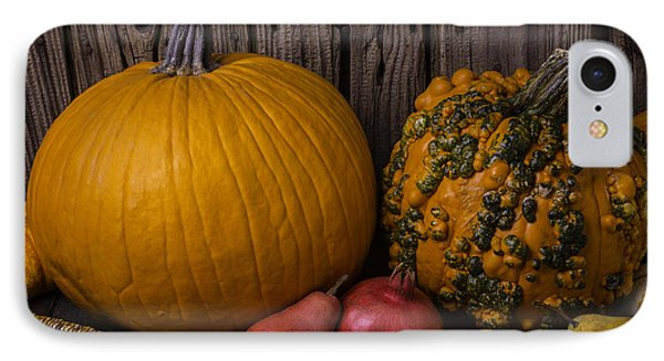 Pumpkin Autumn Still Life IPhone Case