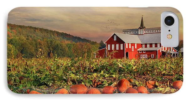 Pumpkin Farm Phone Case by Lori Deiter