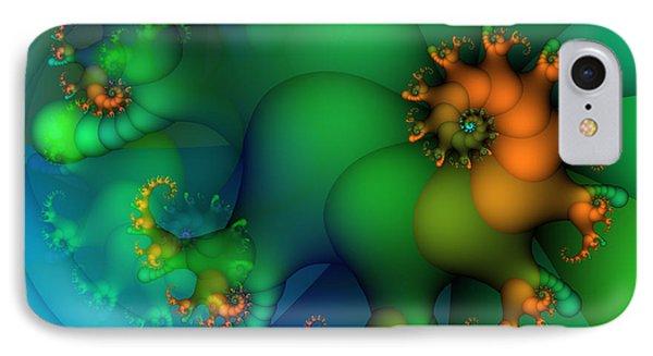 Pumpkin Garden Phone Case by Jutta Maria Pusl
