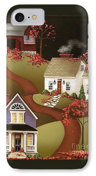 Pumpkin Harvest In Mapleton  Phone Case by Catherine Holman