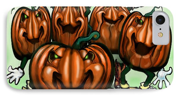 Pumpkin Party Phone Case by Kevin Middleton