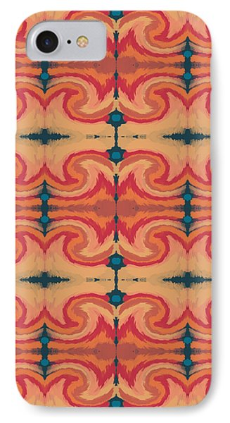 Repeat iPhone 7 Case - Pumpkin Spice 2- Art By Linda Woods by Linda Woods