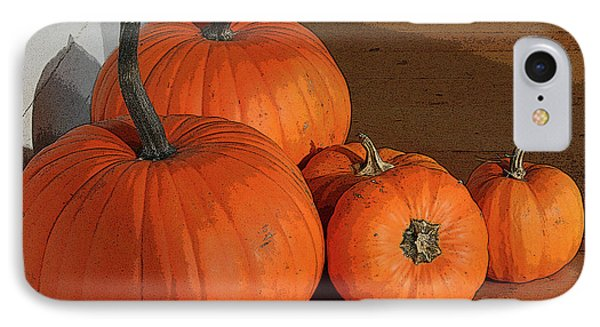 Pumpkins IPhone Case