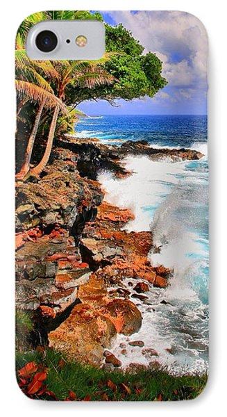 IPhone Case featuring the photograph Puna Coast Hawaii by DJ Florek