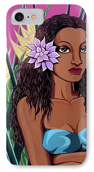 Punaluu Girl IPhone Case