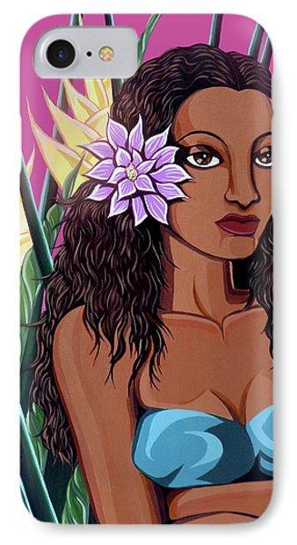 Punaluu Girl IPhone Case by Tara Hutton