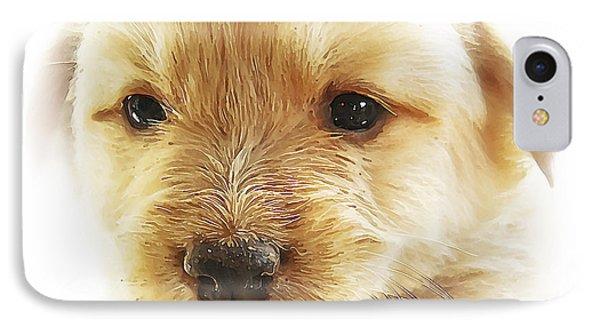 Puppy Art Phone Case by Svetlana Sewell