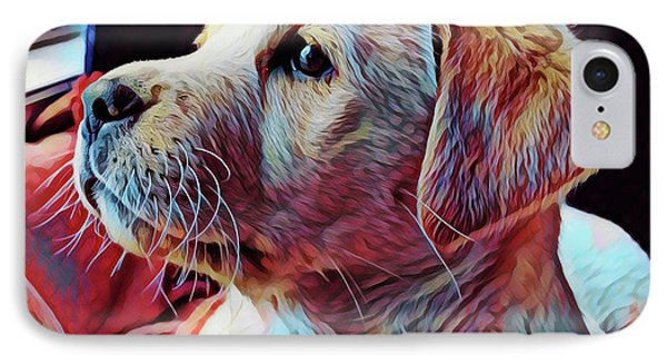 Puppy Dog IPhone Case by Gary Grayson