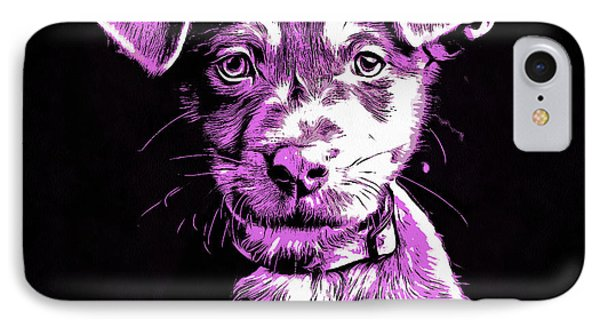 Puppy Dog Graphic Novel Drawing IIi IPhone Case