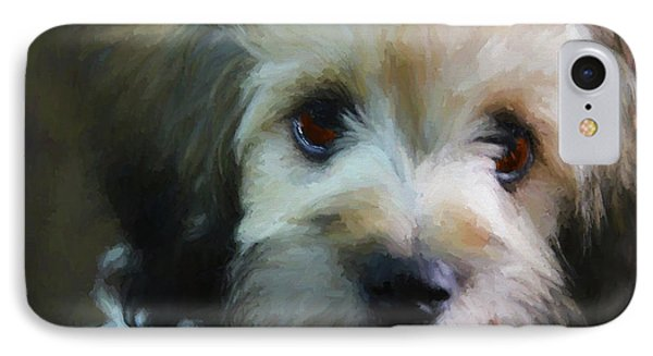 Puppy Face IPhone Case by Ericamaxine Price