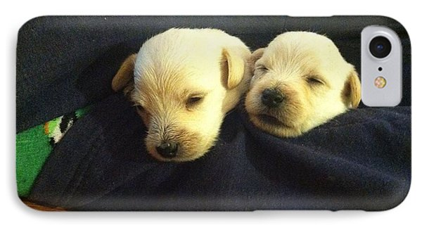 Puppy Love IPhone Case by MaryLee Parker