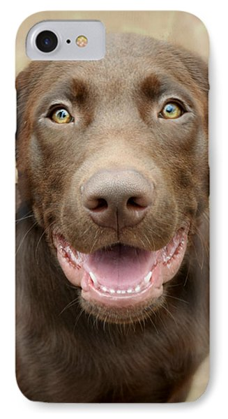 Puppy Power IPhone Case by Kathy M Krause