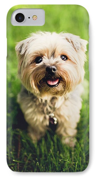 Puppy IPhone Case by Happy Home Artistry
