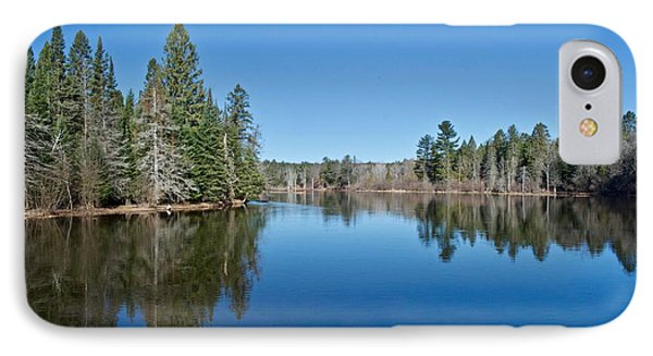 IPhone Case featuring the photograph Pure Blue Waters 1772 by Michael Peychich