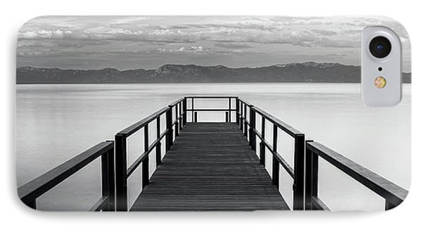 IPhone Case featuring the photograph Pure State Of Mind Lake Tahoe Pier by Brad Scott