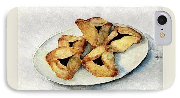 Purim Cookies IPhone Case by Annemeet Hasidi- van der Leij
