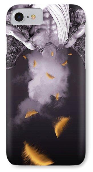 Purple  Angel  IPhone Case by Mark Ashkenazi