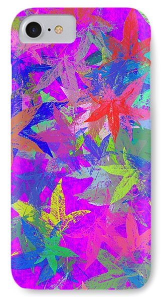 Purple Autumn Fantasy IPhone Case