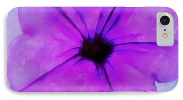 Purple Breeze IPhone Case