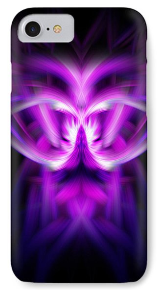 IPhone Case featuring the photograph Purple Bug by Cherie Duran