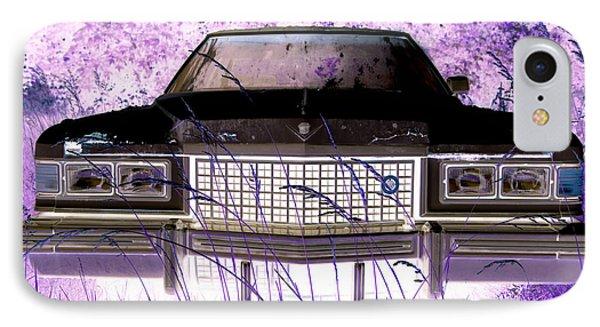 Purple Cadillac Phone Case by Julie Niemela
