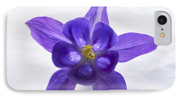 Purple Columbine IPhone Case by Terence Davis
