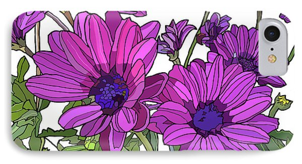 Purple Days IPhone Case by Jamie Downs