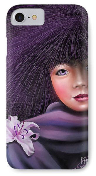 Purple Delight IPhone Case by S G