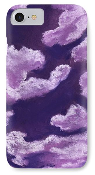 Purple Dream - Sky And Clouds Collection IPhone Case by Anastasiya Malakhova