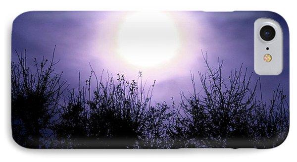 Purple Eclipse IPhone Case by Greg Joens