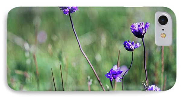 IPhone Case featuring the photograph Purple Flowers by Jim and Emily Bush