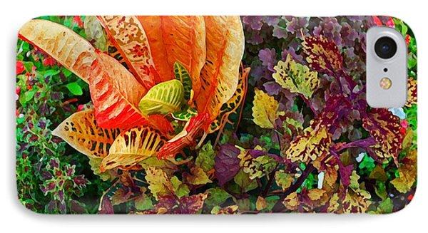 Purple Flowers Phone Case by Michael Thomas