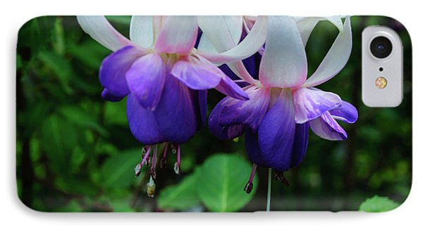 IPhone Case featuring the photograph Purple Fuschia by Tikvah's Hope