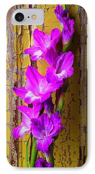 Purple Glad IPhone Case