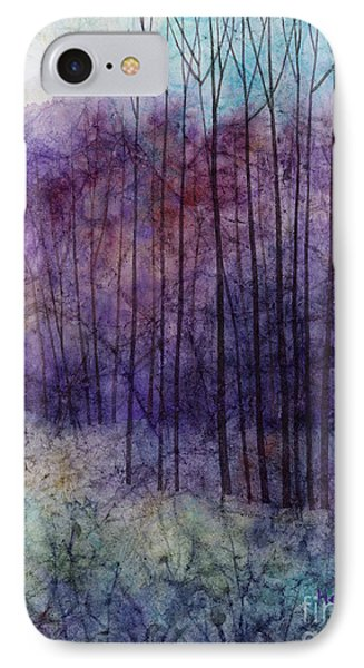 Purple Haze IPhone Case by Hailey E Herrera