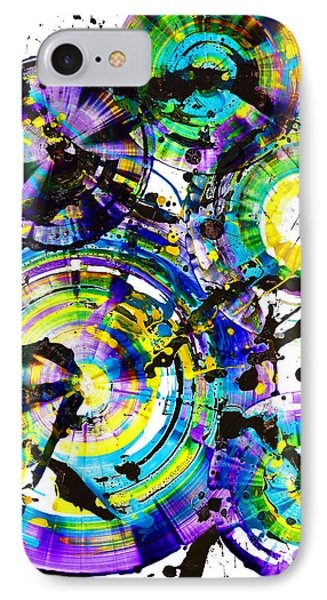 Purple Haze Spheres And Circles 1509.021413 IPhone Case
