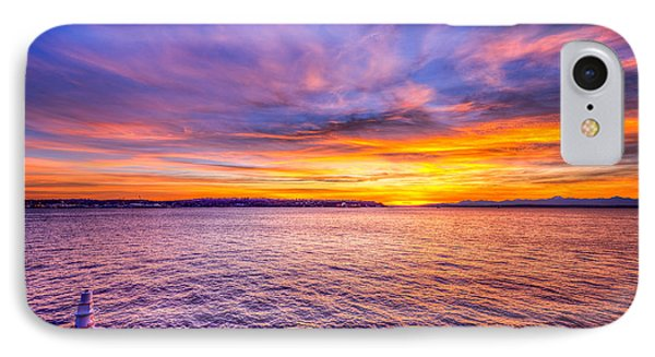 Purple Haze Sunset IPhone Case