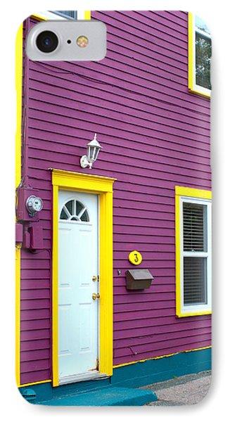 Purple House IPhone Case by Douglas Pike