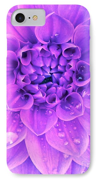 Purple Too IPhone Case by Cathy Dee Janes