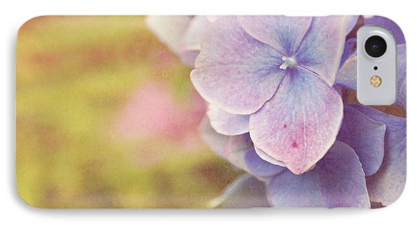 IPhone Case featuring the photograph Purple Hydrangea by Lyn Randle