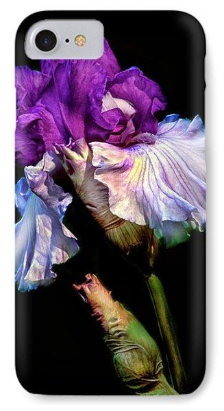 Purple Iris IPhone Case by Dave Mills