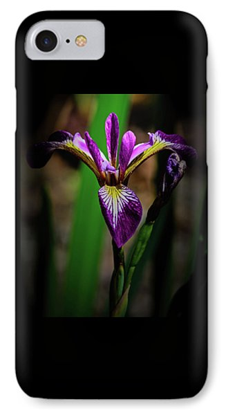 IPhone Case featuring the photograph Purple Iris by Tikvah's Hope